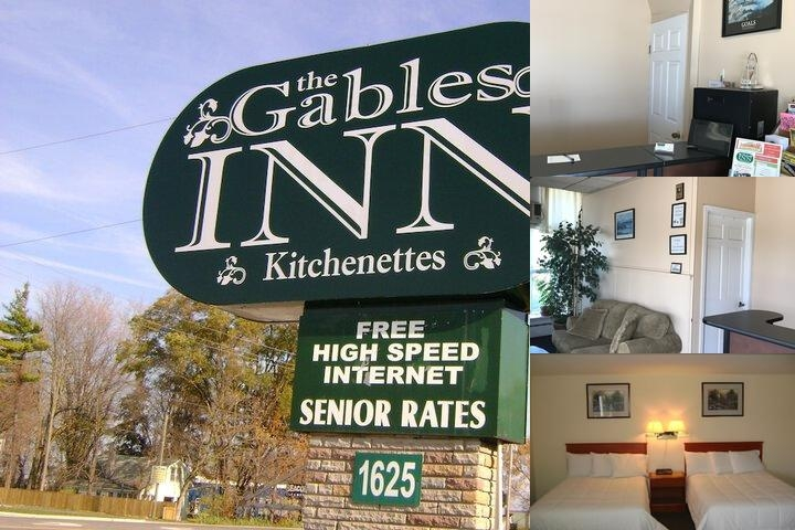 The Gables Inn photo collage