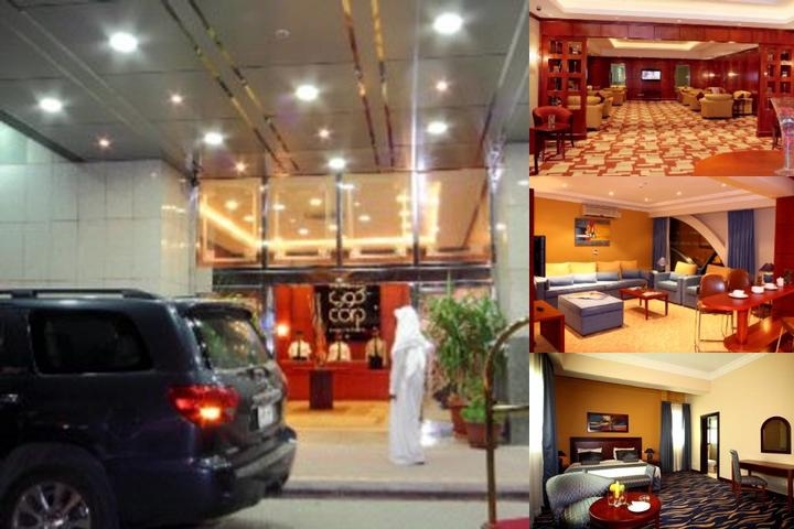 Corp Executive Hotel Deira photo collage