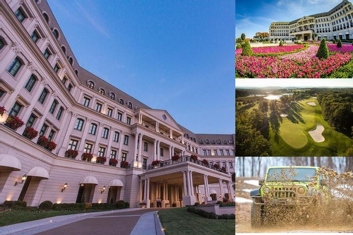 Nemacolin Woodlands Resort photo collage