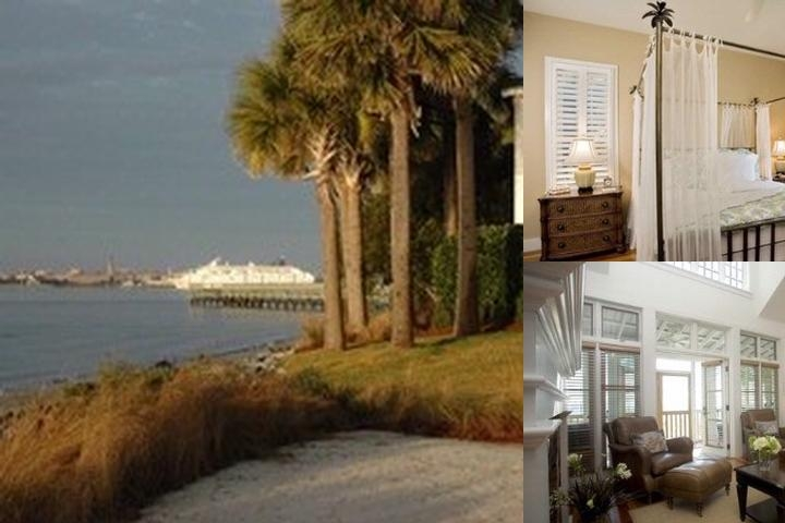 The Cottages on Charleston Harbor photo collage