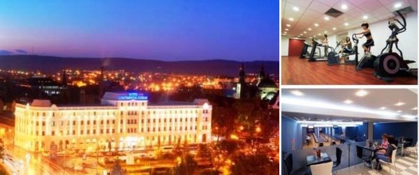 Hotel Continental Forum Sibiu photo collage