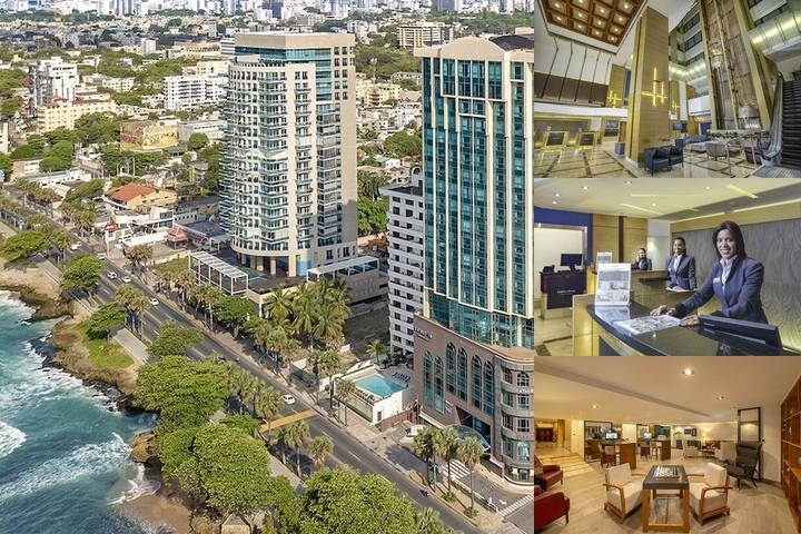 Hilton Santo Domingo photo collage