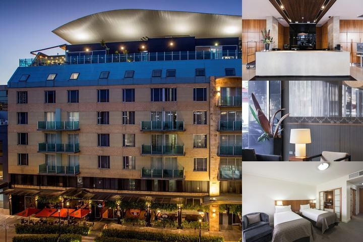 Majestic Roof Garden Hotel photo collage