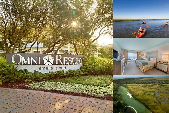 Omni Amelia Island Plantation Resort photo collage