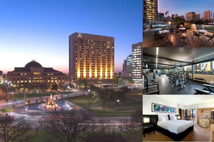Hilton Adelaide photo collage