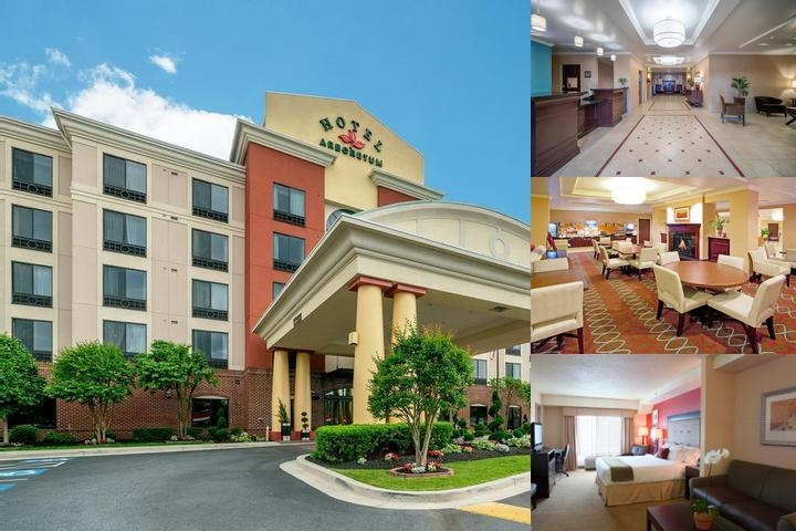 Holiday Inn Express Hotel & Suites Washington Dc photo collage