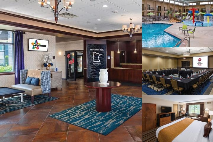 Best Western Plus Bloomington Hotel at Mall of Ame photo collage