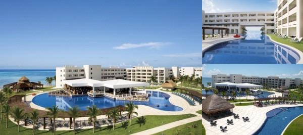 Secrets Silversands Riviera Cancun photo collage