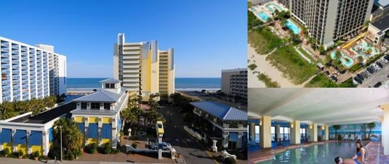 Sea Crest Oceanfront Resort photo collage