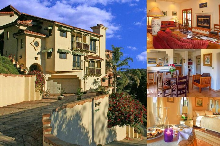 Topanga Canyon Inn Bed & Breakfast photo collage