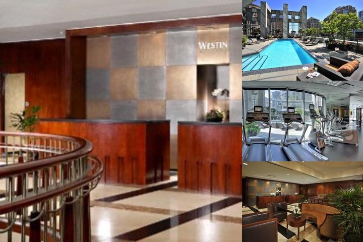 The Westin Grand Vancouver photo collage