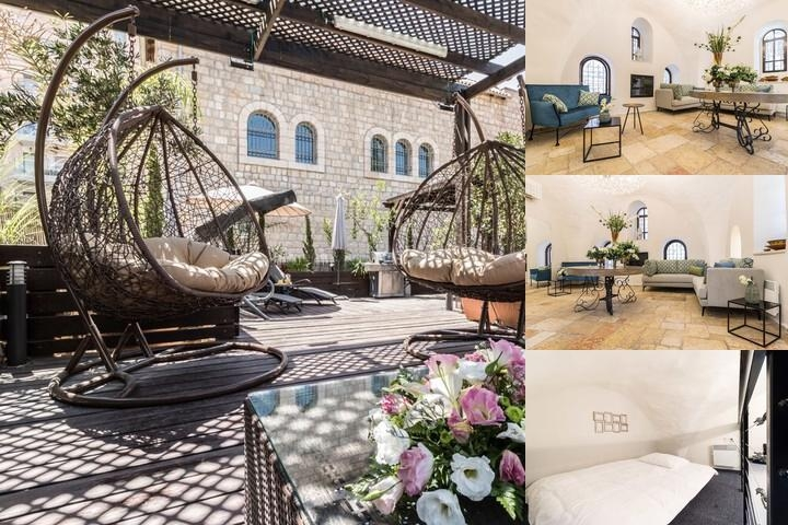 Mamilla Hotel photo collage