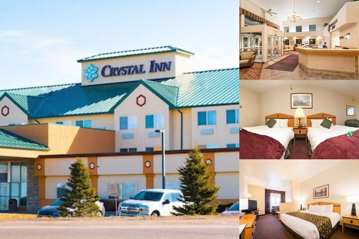 Crystal Inn Hotel & Suites Great Falls photo collage