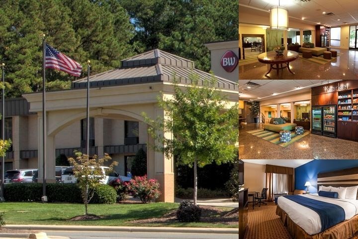 Best Western Cary Inn photo collage