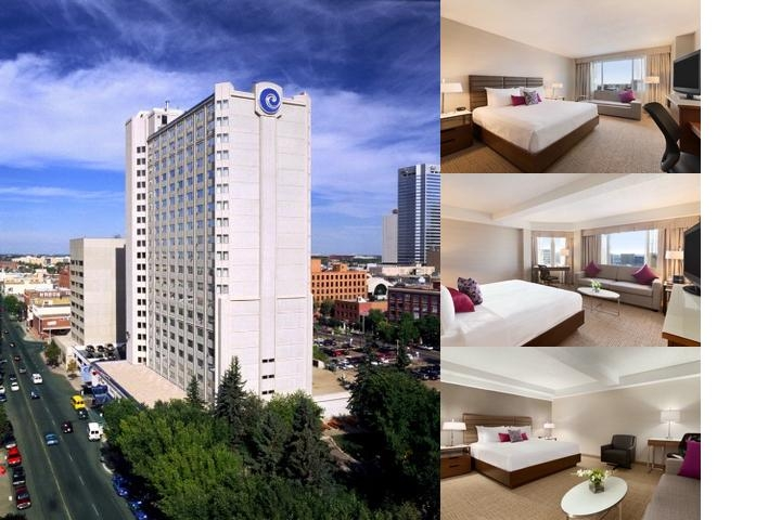 Coast Edmonton Plaza Hotel photo collage