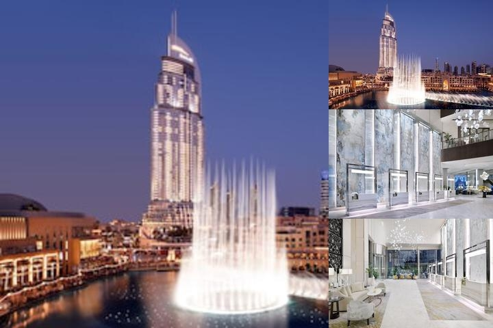 The Address Downtown Dubai photo collage