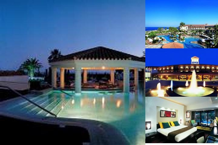 Amathus Beach Hotel Paphos photo collage
