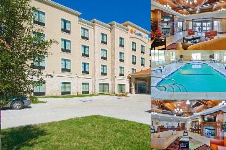 Comfort Inn Western Center Fort Worth photo collage