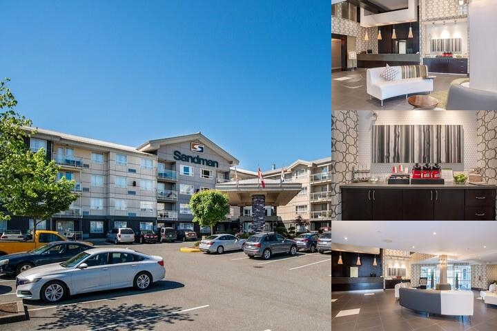 Sandman Hotel & Suites Abbotsford photo collage