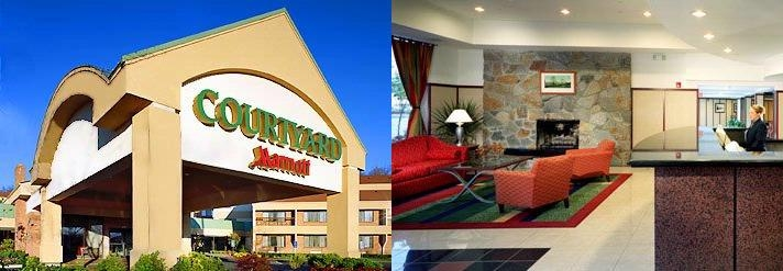 Courtyard by Marriott Cromwell photo collage