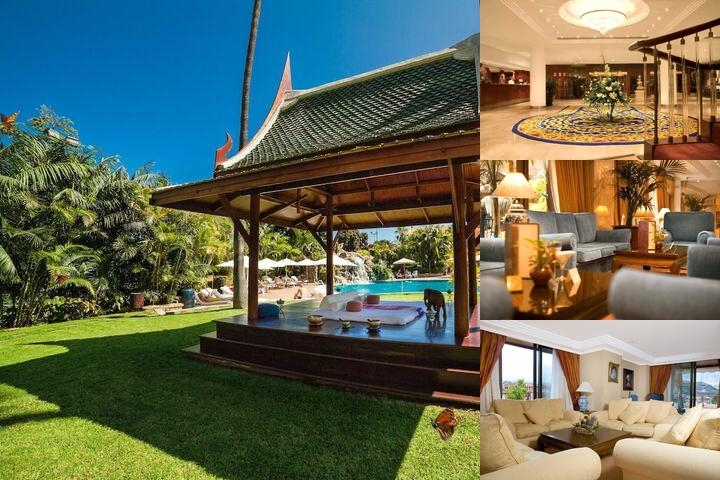 Hotel Botanico photo collage