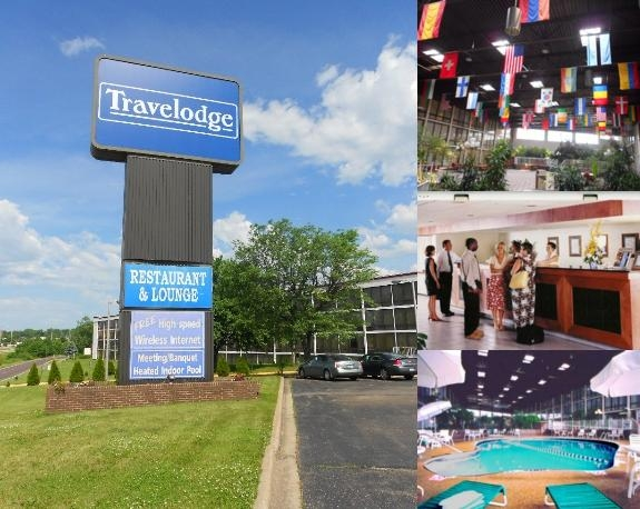 Travelodge Peoria Hotel & Conference Center photo collage
