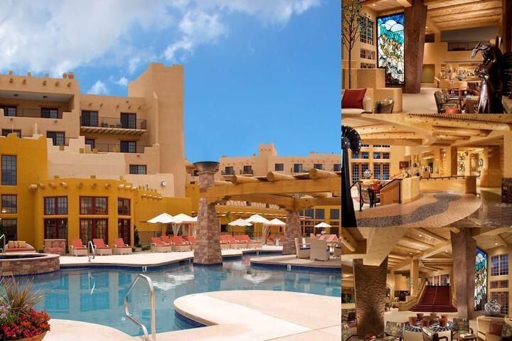 Hilton Santa Fe Buffalo Thunder photo collage