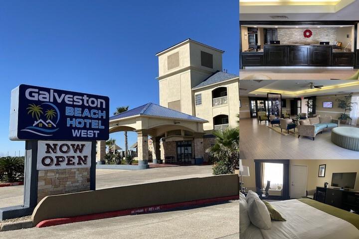 Best Western Galveston West Beach Hotel Galveston Tx 8710 Seawall 77554