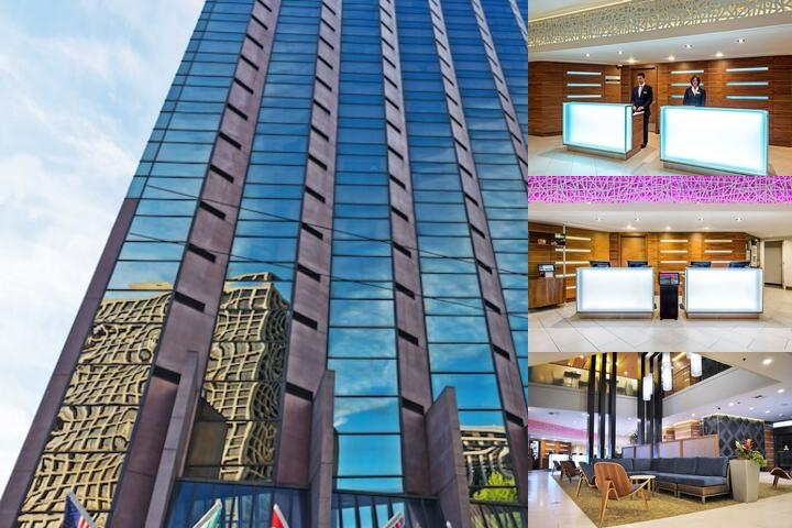 Crowne Plaza Seattle photo collage