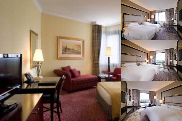Sheraton Grand Krakow photo collage