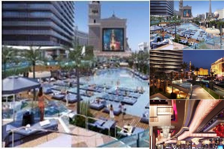 The Cosmopolitan of Las Vegas photo collage
