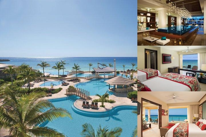 Now Jade Riviera Cancun Resort & Spa All Inclusive photo collage
