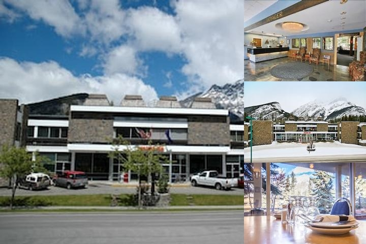 Banff Voyager Inn photo collage