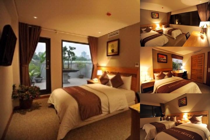 Eternity Hotel Hanoi photo collage