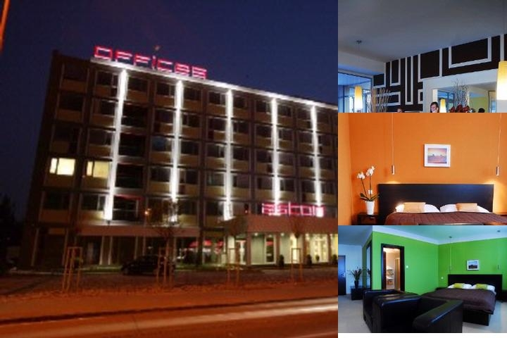Aston Business Hotel photo collage