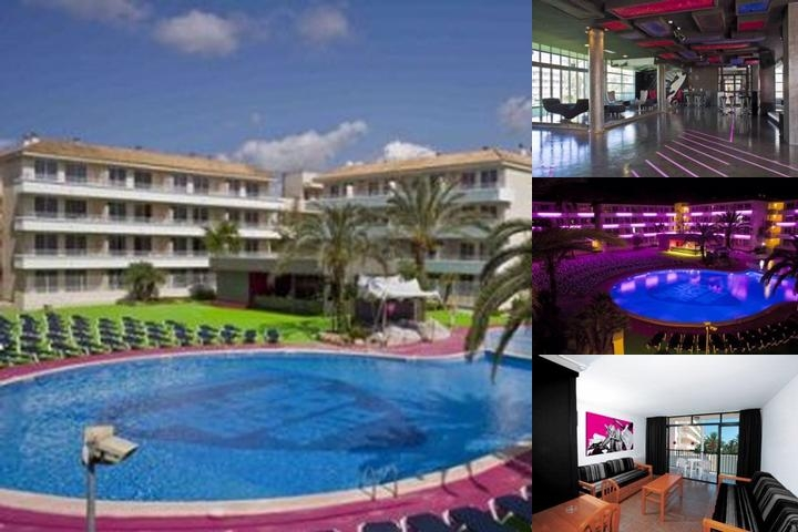 Mallorca Rocks Hotel photo collage