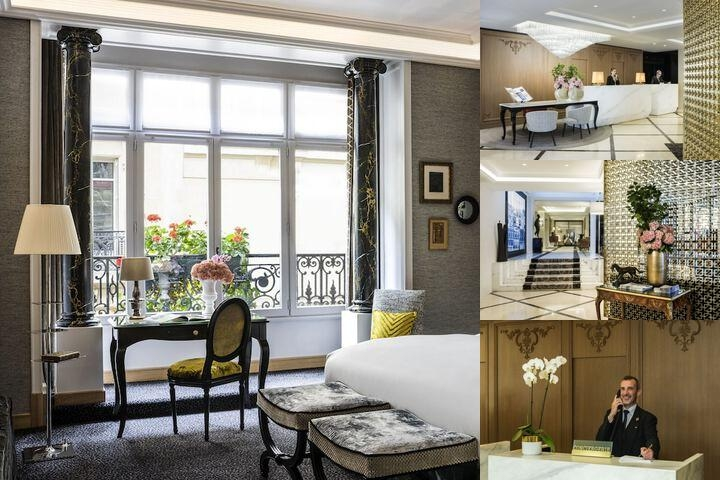 Hotel Baltimore Paris Mgallery Collection photo collage
