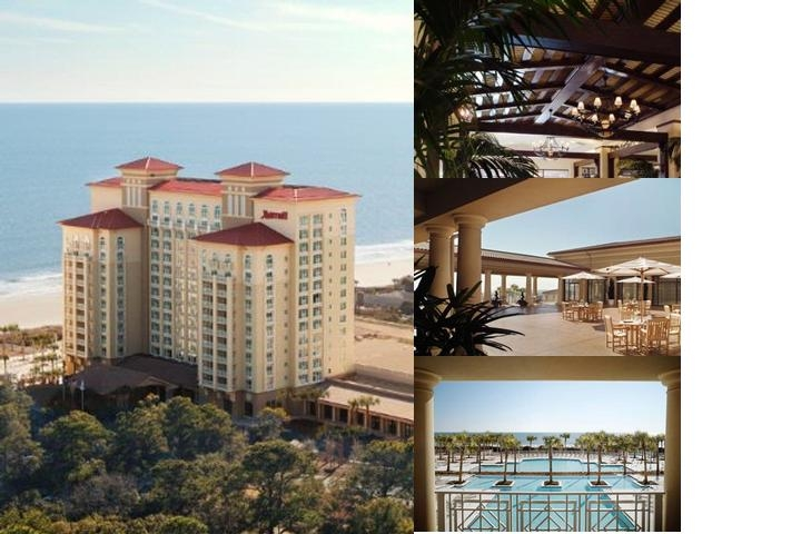 Myrtle Beach Marriott Resort & Spa at Grande Dunes photo collage