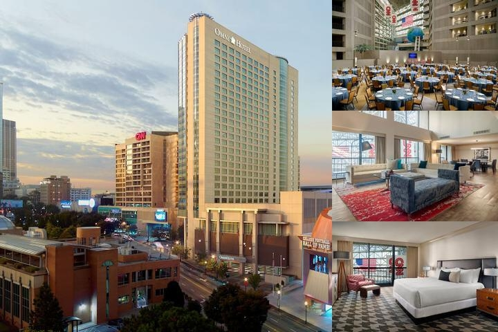 Omni Hotel at Cnn Center photo collage