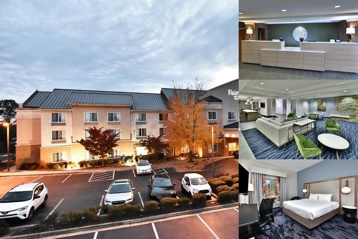Fairfield Inn & Suites Richmond Short Pump / I 64 photo collage
