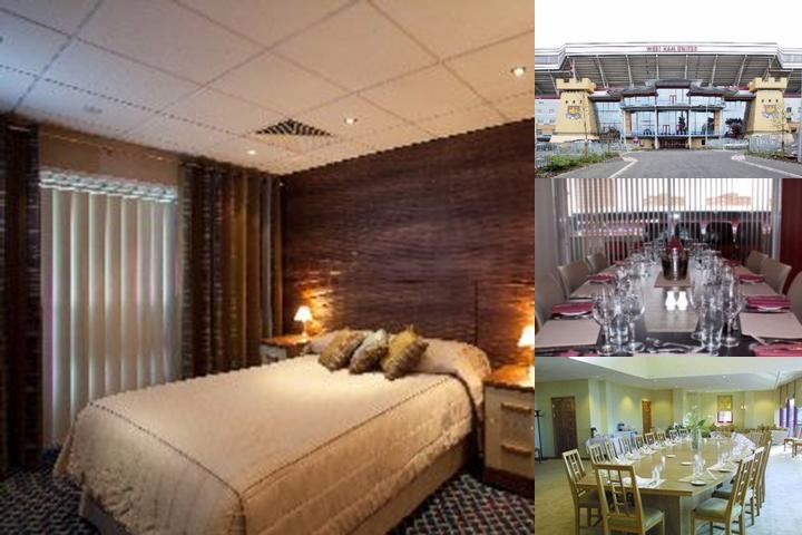 West Ham United Hotel photo collage