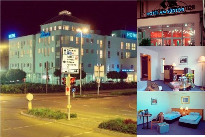Hotel Suedtor Marconi photo collage