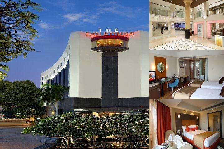 The Golkonda Hotel photo collage