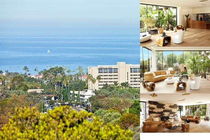 Hotel La Jolla photo collage
