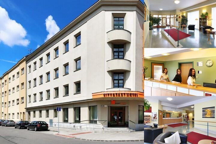 City Apart Hotel Brno photo collage