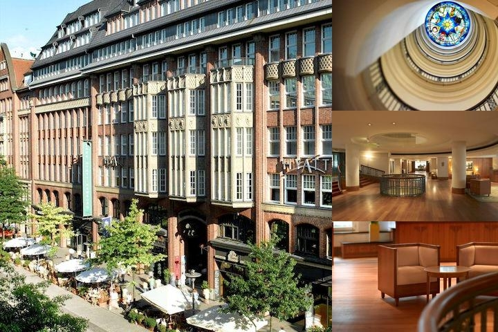 Park Hyatt Hamburg photo collage