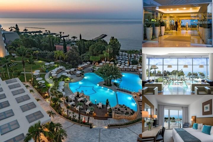Mediterranean Beach Hotel photo collage
