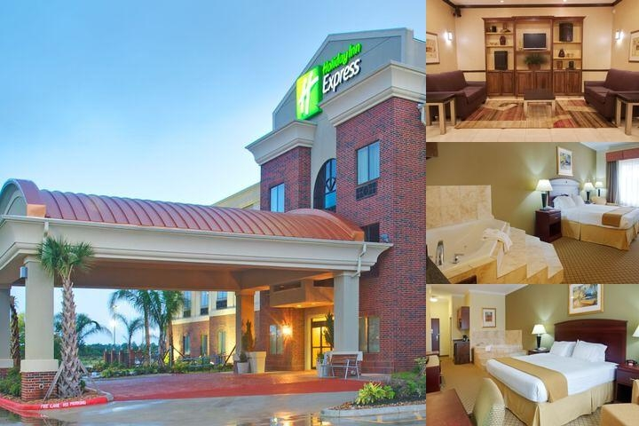 Holiday Inn Express Hotel & Suites Winnie photo collage