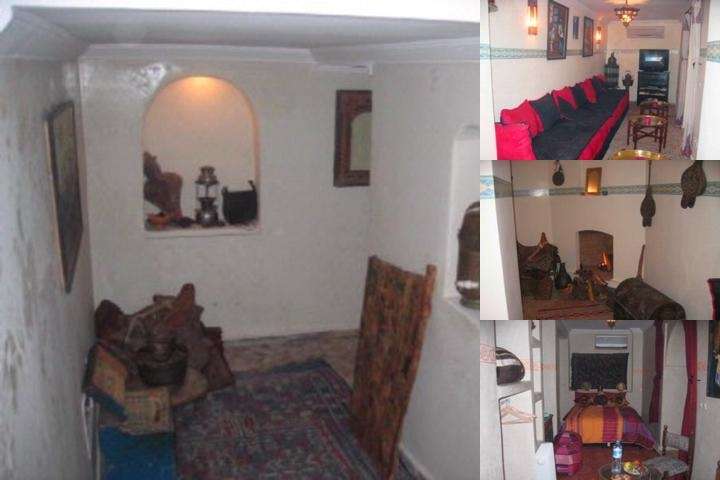 Riad El Ambar photo collage