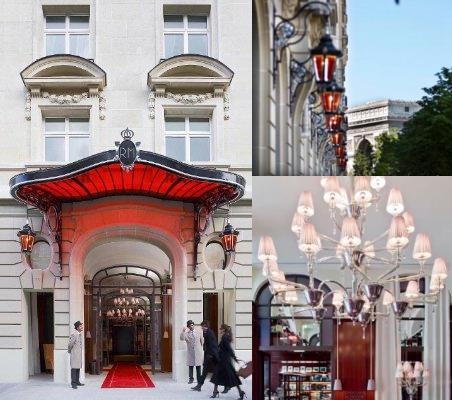 Le Royal Monceau Raffles Paris photo collage